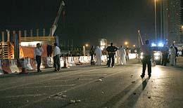الاســـم:انهيار جسر في دبي 02.jpg المشاهدات: 467 الحجـــم:8.8 كيلوبايت